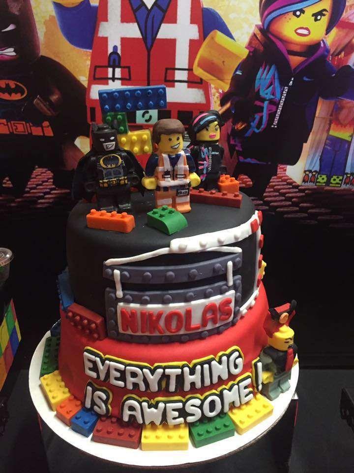 Awe Inspiring Lego Movie Birthday Party Ideas Lego Movie Birthday Movie Birthday Cards Printable Trancafe Filternl
