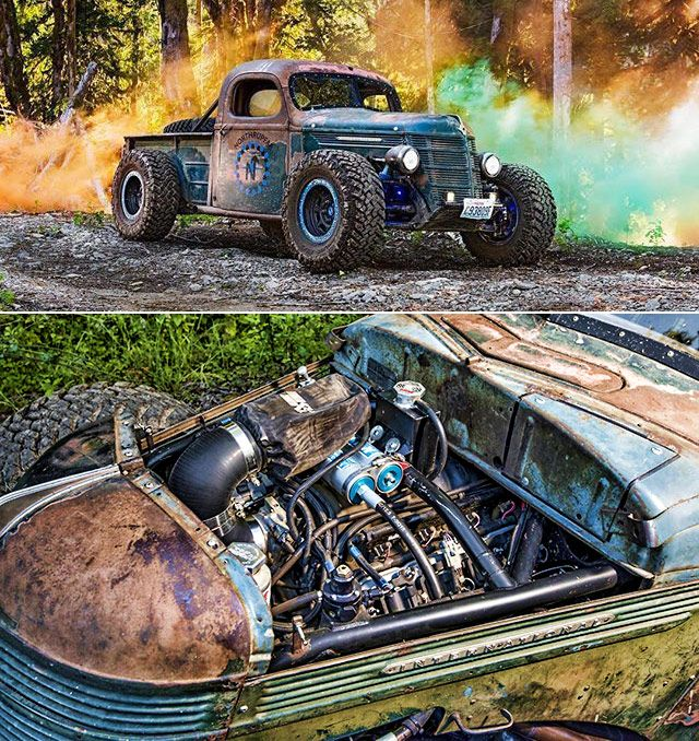 1937 International Truck with a LS6 under the hood A Hot Rod, Rat Rod, Trophy Truck, and Road-Worth