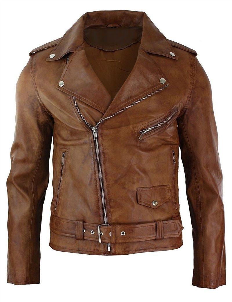 Mens Cross Zip Motorcycle Leather Jacket Winter Leather Jackets Leather Jacket Men Real Leather Jacket [ 1039 x 800 Pixel ]
