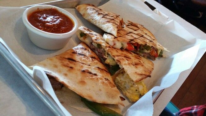 Steak and Egg Quesadillas