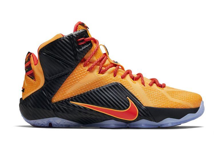 King James Shows Off Brand New Nike LeBron 12 Low Post Game