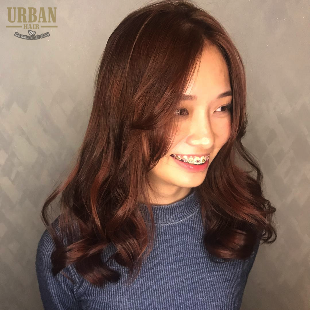 Korean Wave Perm In 2020 Best Hair Salon Wave Perm Cool Hairstyles