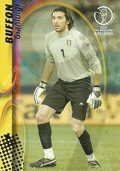 2002 Panini World Cup 68 Gianluigi Buffon Front Copa Del Mundo Fifa Portero