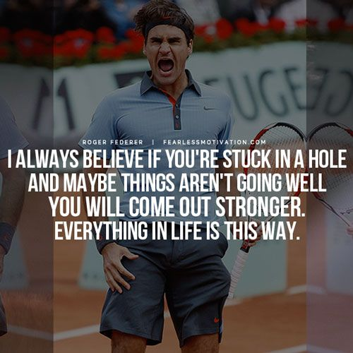 Motivational Quotes For Sports Teams: 15 Inspiring Roger Federer Quotes