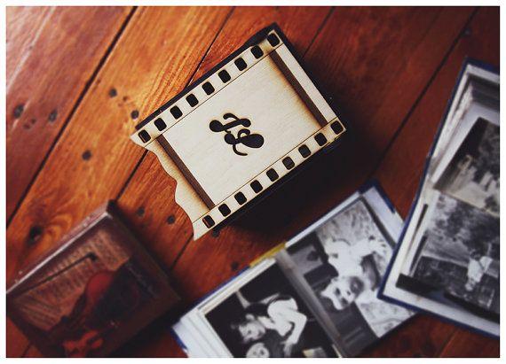 Personalized Wedding Photo Box Custom gift Wood by AylilAntoniu