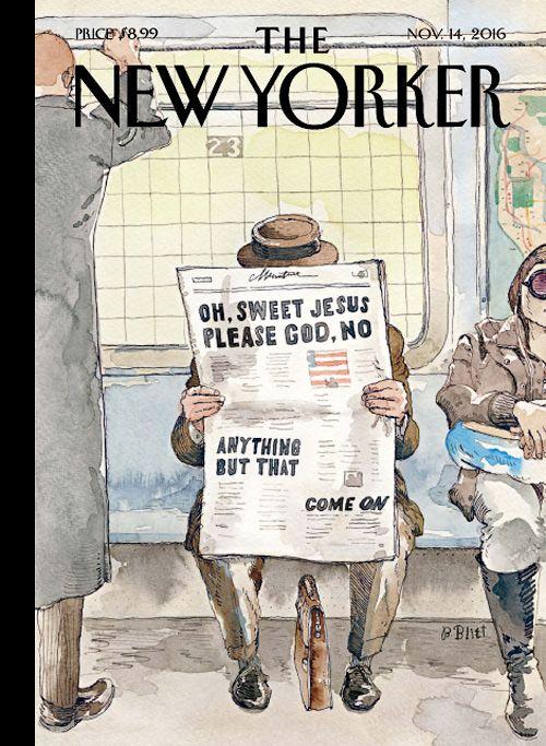 Magazine Cover: The New Yorker (November 14, 2016)