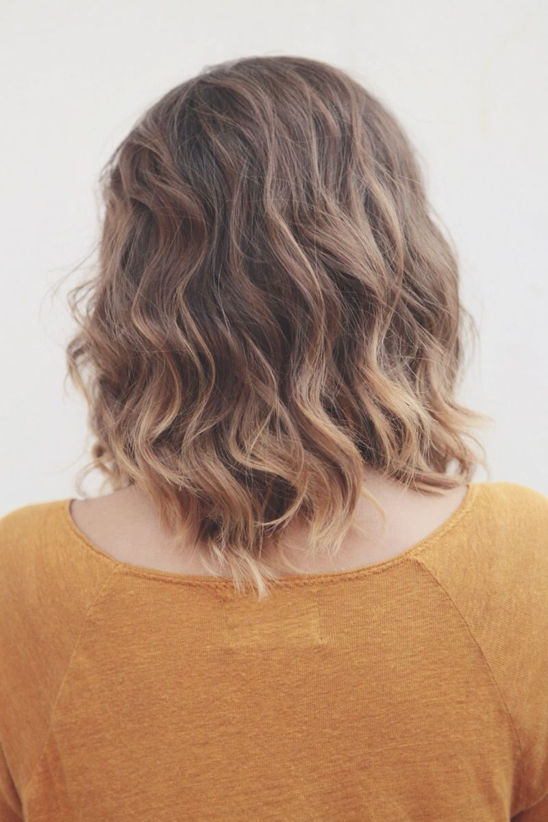 Soft Balayage Ombre Highlights On Short Brown Hair By Tara Harman