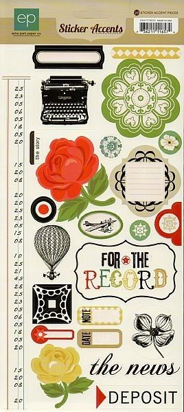 Scrapbooking for Less - Echo Park Cardstock Stickers - For the Record, $1.00 (http://www.scrapbooking-for-less.com/echo-park-cardstock-stickers-for-the-record/)