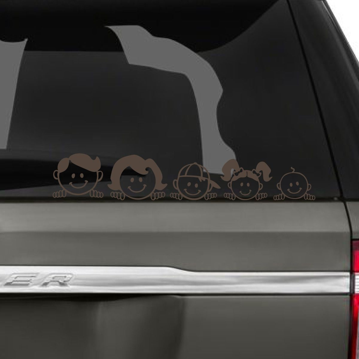 Peeping Family Car Decal Family Car Decals Family Car Stickers Family Car [ 1200 x 1200 Pixel ]