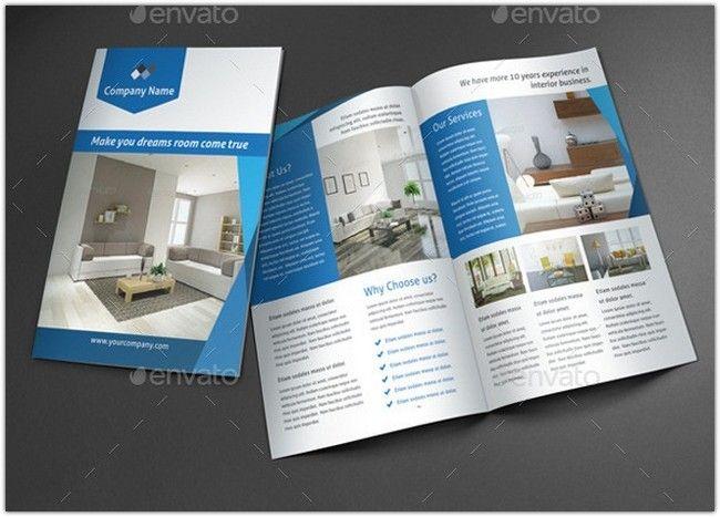 Interior Brochure Template Ideas Laudiovisual Pinterest - interior design brochure template