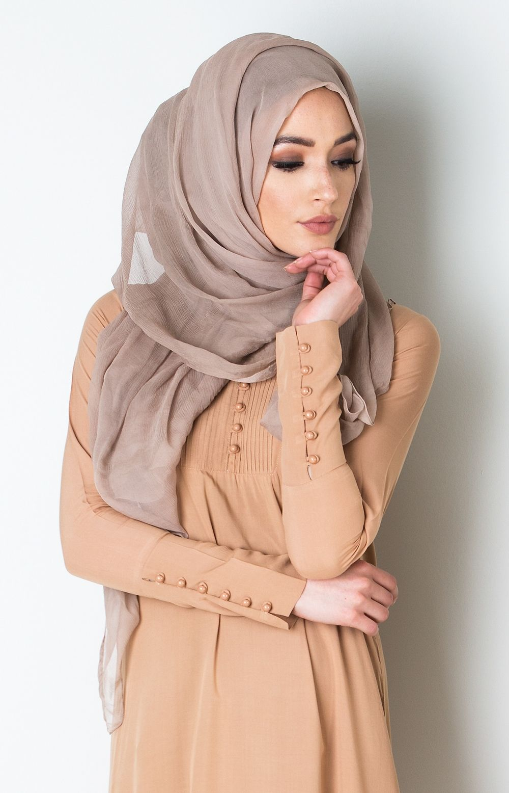 pintuck abaya vanilla fudge hijab. Black Bedroom Furniture Sets. Home Design Ideas