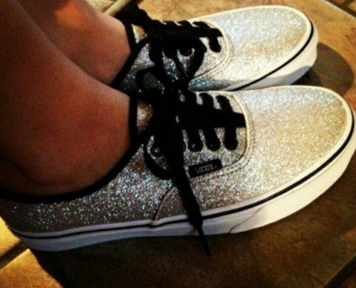 aadcab66d9 Glitter Vans I have these  P