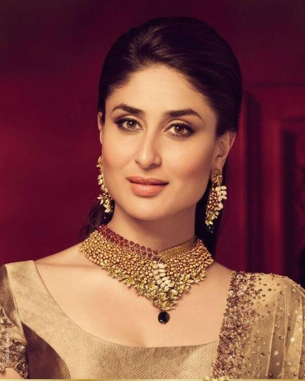 Kareena Kapoor golden jewelry | Bridal jewellery indian