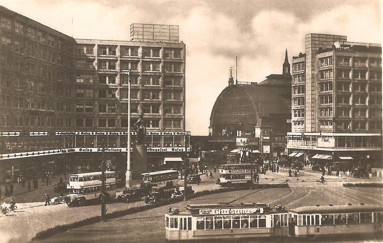 1940 Am Alexanderplatz Berlin East Germany German History