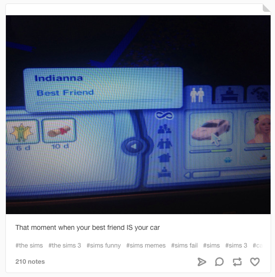18 hilarious tumblr posts only the sims fans will get - Sims 3 spielideen ...