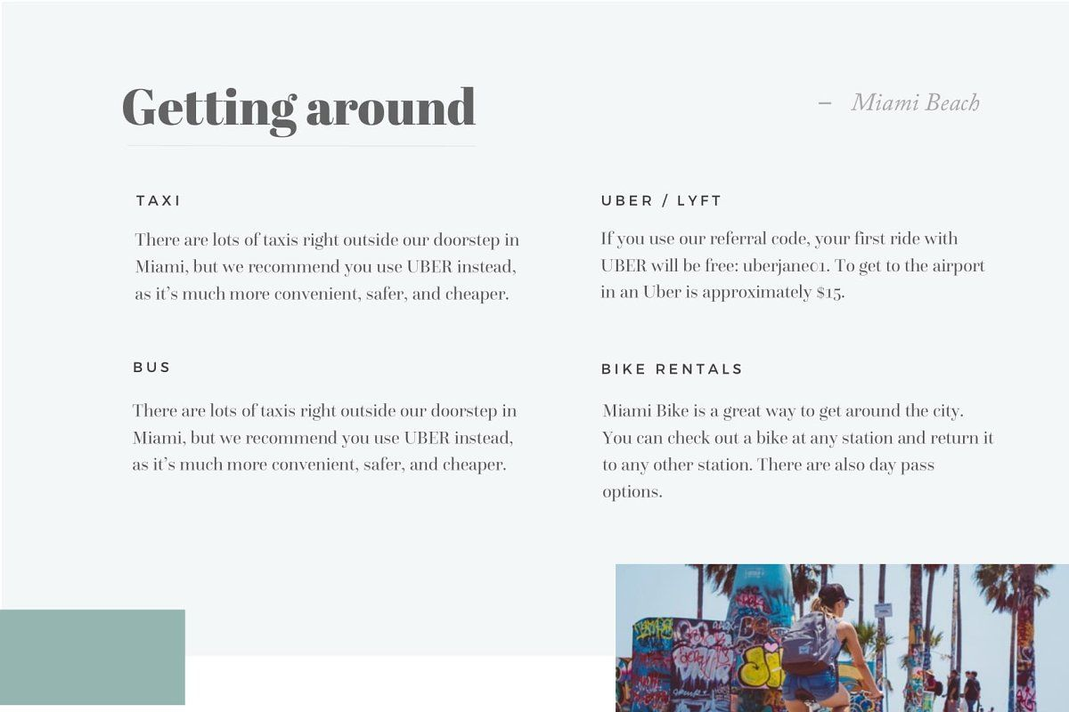 Airbnb Book Template Brochure Templates
