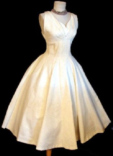 antiqued embellishments to white dress | White Vintage Dress ...