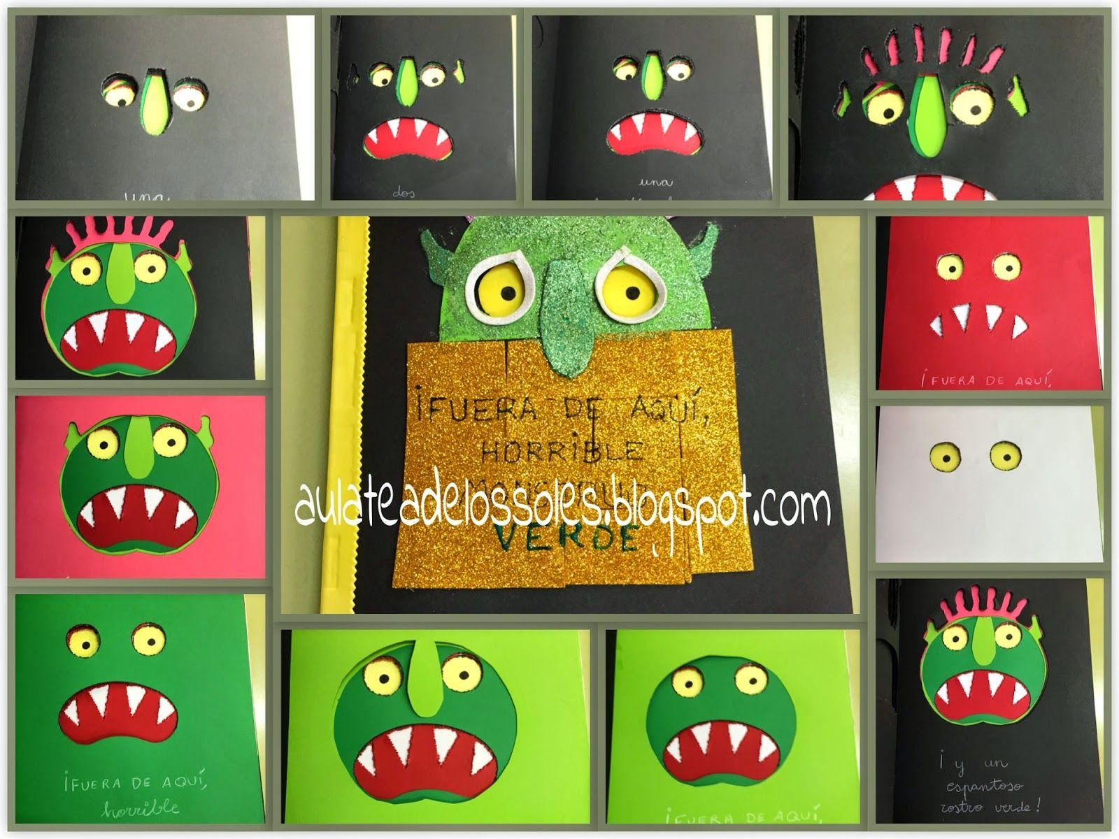 Adaptando cuentos fuera de aqu horrible monstruo verde for Fuera de quicio libro