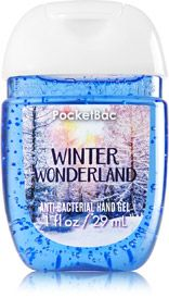 Winter Wonderland Pocketbac Sanitizing Hand Gel Soap Sanitizer