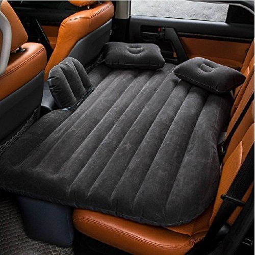 zoiibuy de auto kissen auto luftmatratze doppelbett mobil inflation travel dickere back seat. Black Bedroom Furniture Sets. Home Design Ideas