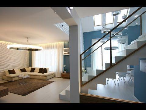 Dise o de casa moderna de dos plantas m s planos youtube for Interiores de casas modernas de una planta