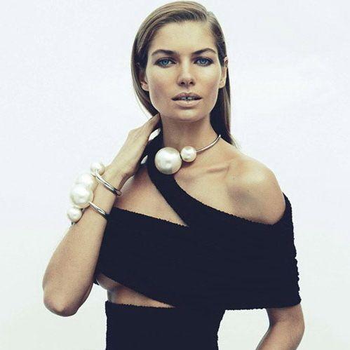 2014 new arrival hot fashion women's big simulated pearl collar bib statement necklaces choker pendant