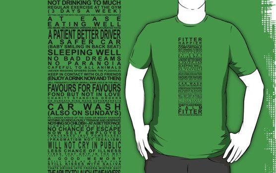 34f263a8 Fitter Happier t-shirt | Inspiration | Pinterest | Werbung