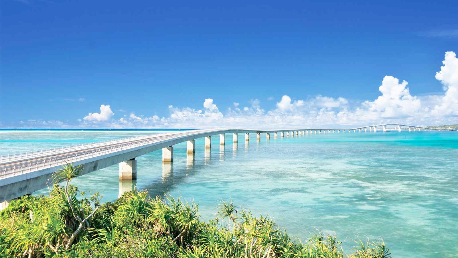 Miyako Island Okinawa Prefecture 沖縄県 宮古島 伊良部大橋 1600
