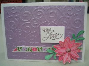 Classy Handmade Embossed Card Ideas Cards Handmade Card Craft