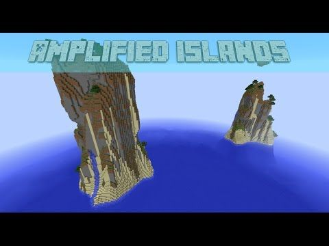 Cool Amplified Island Minecraft Seeds 1 8 7 - YouTube