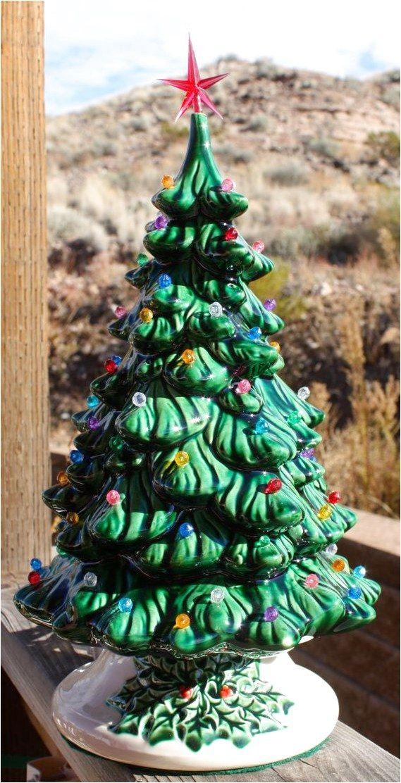 Ceramic #InteriorDesign Click to See More arvores de Natal em