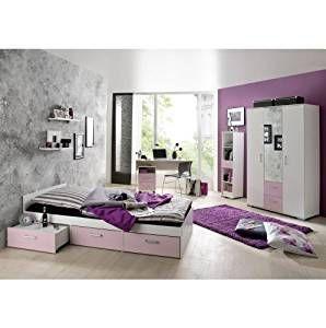 Super schönes Jugendzimmer in rosa weiß