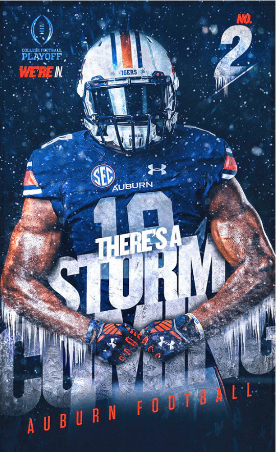 Auburn Football Football Design Sports Graphic Design Sports Wallpapers