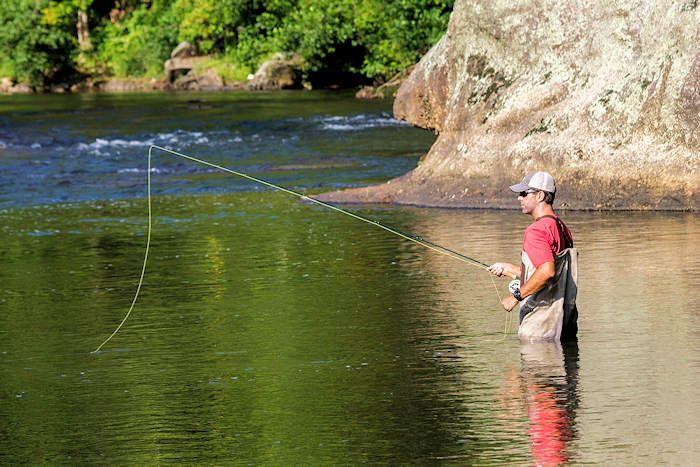 Fly Fishing NC Mountains