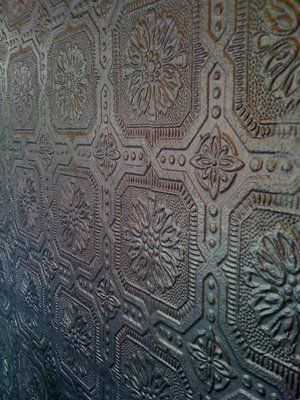 Embossed Wallpaper That You Can Paint I Want To Do This As A