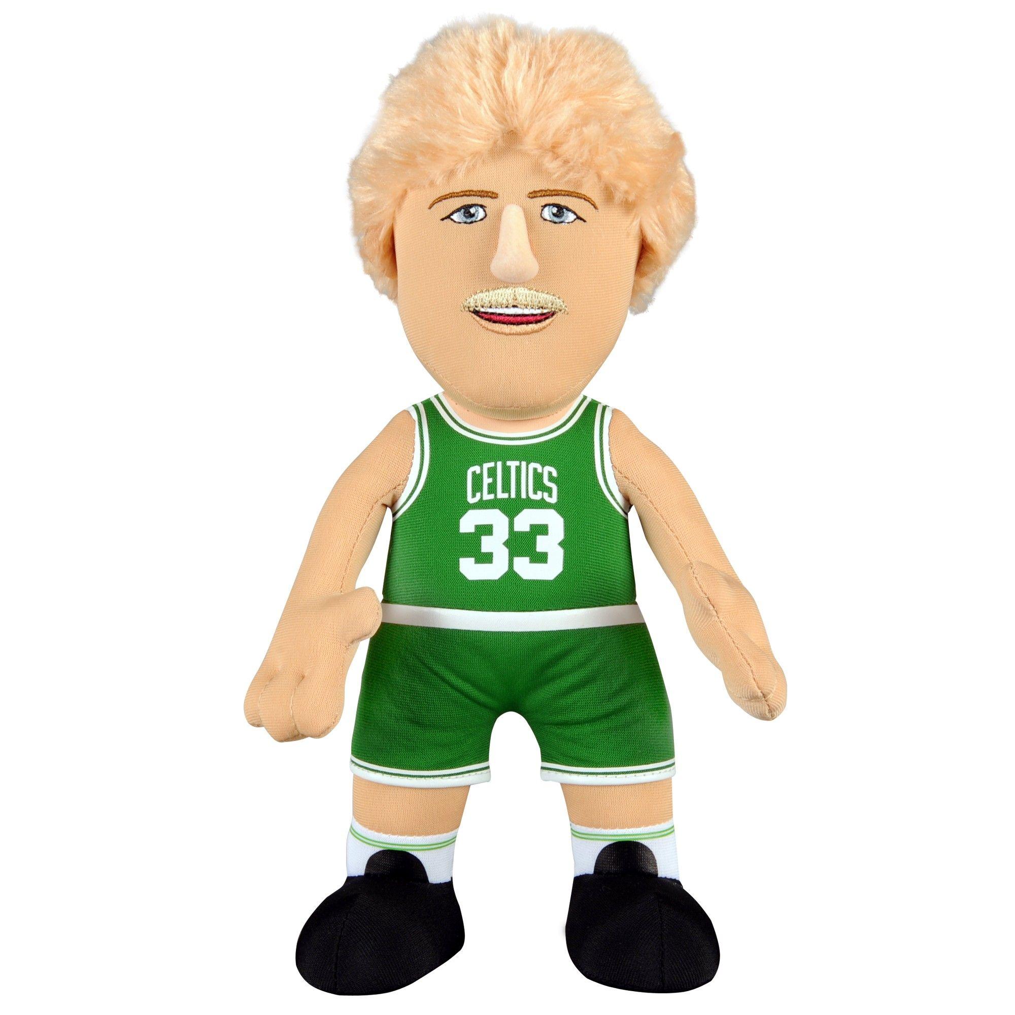 Magic Johnson Dynamic Duo Bundle Usa Basketball And Los Angeles Lakers 10 Plush Figures Larry Bird Boston Celtics Celtics Gear