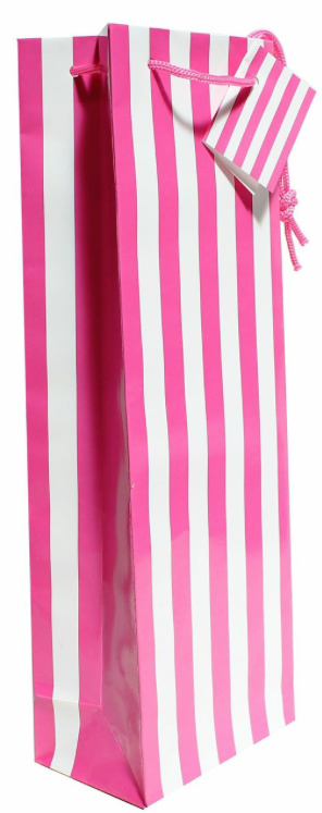 pochette cadeau rose, saint valentin, present