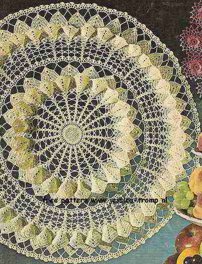 Magnolia Blossom doily free vintage crochet doilies patterns ...