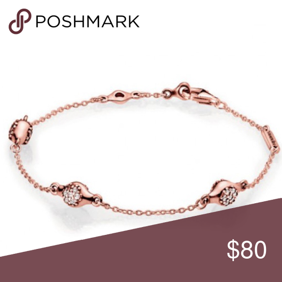 2af2e0daf Pandora RoseModern LovePods Bracelet The flower bud inspired embellishments  are set with 42 pave clear cubic zirconia stones in a shimmering tribute to  new ...