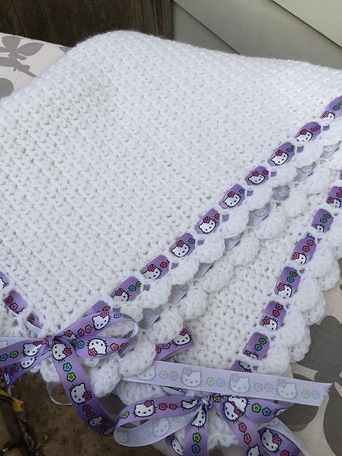Stunning Tiramisu Baby Blanket – Free Pattern | Manta, Colchas y Tejido