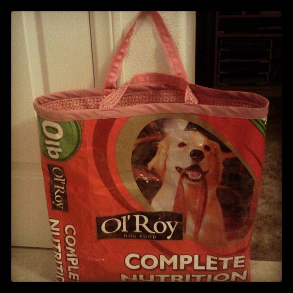 Pin On Upcycled Pet Food Bags