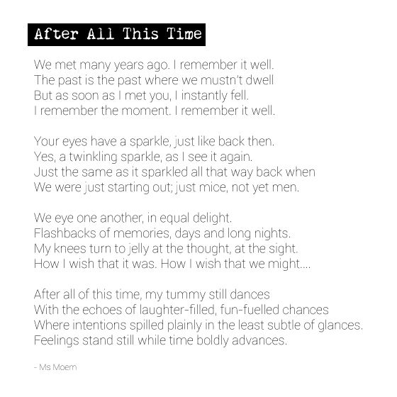After All This Time All About Time Poems About Life Poems