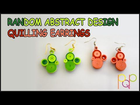 YouTubeIn this video I am showing how to make a #random #abstract #design for #quilling #earring. These are easy to make and made using only #TightCoils. #Quilled #QuillingStrips #ShadesOfGreen #QuilledPaperArt #QuilledArt #QuilledPaper #QuillingArtist #Dangling #Hanging #QuillingDesign #PaperArt #PaperCraft #HandMade #Art #Craft #Trendy #PQP #TightCoils #OnlyCirlces