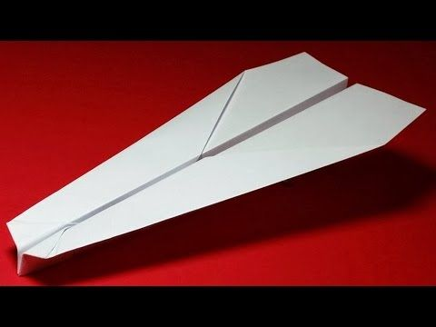 How To Make A Paper Airplane That Flies 10000 Feet Best Paper Airplane Glider Mayhem Paper Airplanes Make A Paper Airplane Paper Plane Longest flying paper airplane design