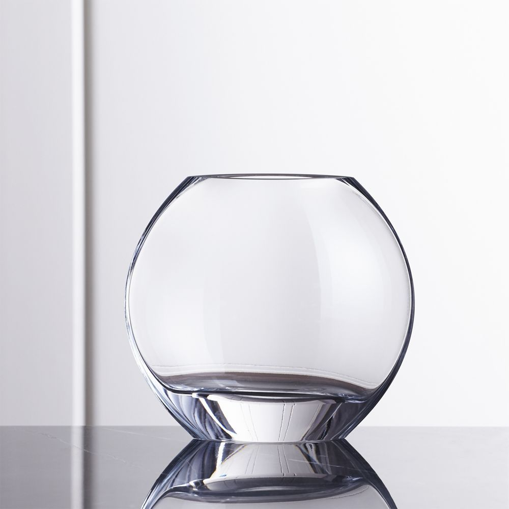 vase vases round products glass