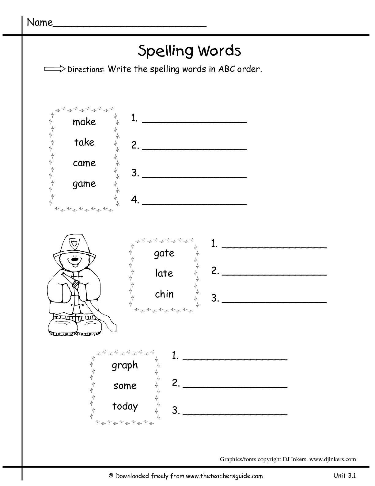 10 Abc Writing Practice Sheets In