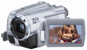 Panasonic PV-GS300 3.1MP 3CCD MiniDV Camcorder with 10x Optical Image Stabilized Zoom