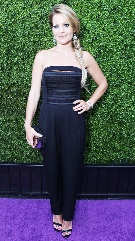 Candace Cameron Bure rocks the summer-friendly jumpsuit trend - #InStyle