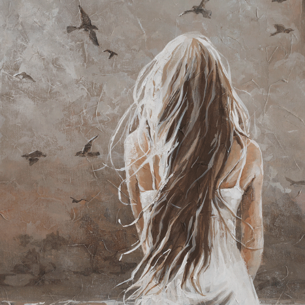 Your voice is in the wind by MM Oosthuizen. | Fine art painting ...