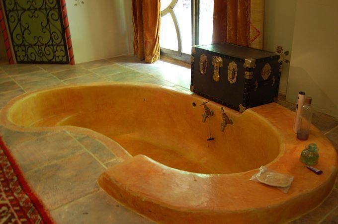 Résultat d\u0027images pour cob bathtub salle de bain Pinterest